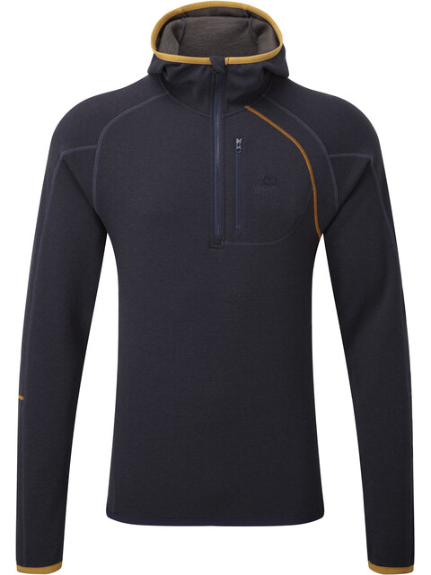Mountain Equipment M's Integrity Hooded Zip Tee Cosmos